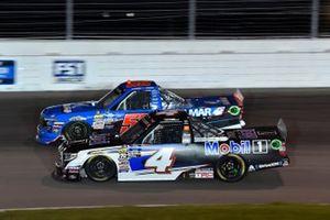 Stewart Friesen, Halmar Friesen Racing, Chevrolet Silverado Halmar International, Todd Gilliland, Kyle Busch Motorsports, Toyota Tundra Mobil 1