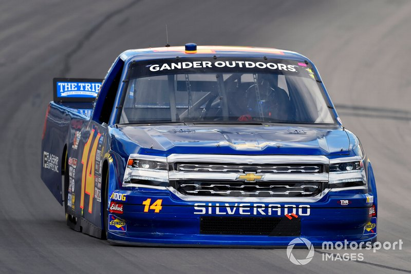 Trey Hutchens III, Trey Hutchens Racing, Chevrolet Silverado Heintz Performance/Team Texas High Performance Driving School