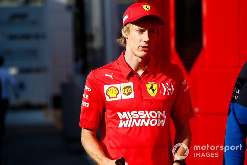 Brendon Hartley, Ferrari