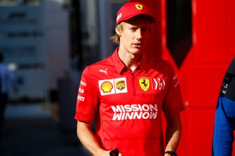 Brendon Hartley, Test and Reserve Driver, Ferrari