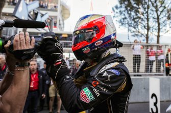 Race winner Jean-Eric Vergne, DS TECHEETAH celebrates victory in parc ferme
