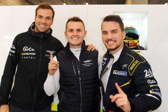 Pole position GTE-AM #90 TF Sport Aston Martin Vantage: Salih Yoluc, Euan Alers-Hankey, Charles Eastwood