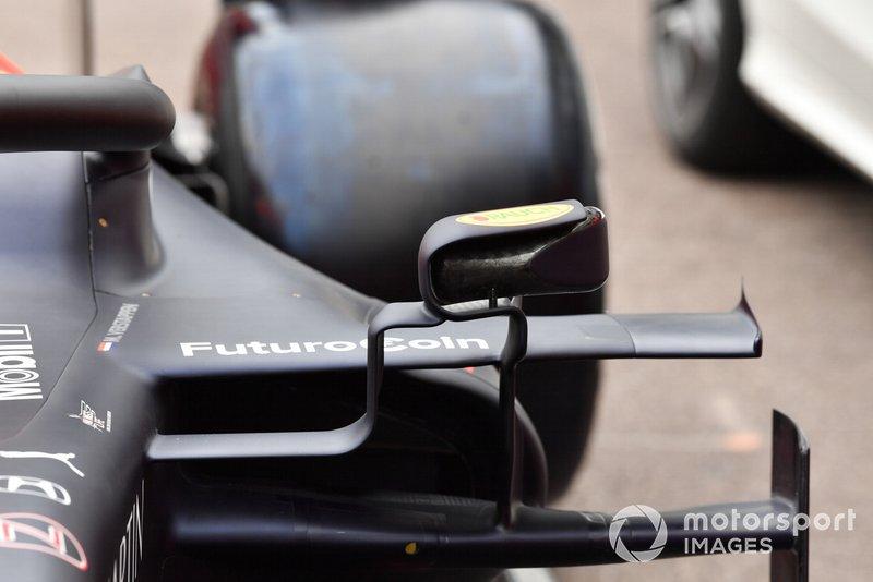 Red Bull RB15: Rückspiegel