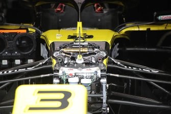 Renault F1 Team front technical detail