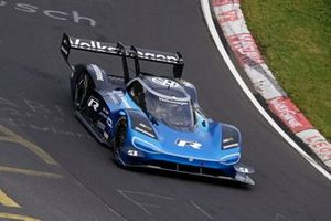 Romain Dumas, Volkswagen ID.R, auf der Nürburgring-Nordschleife
