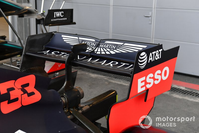 Red Bull Racing RB15 arka kanadı