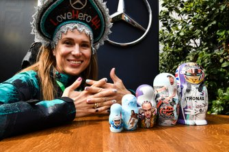 Lewis Hamilton, Mercedes AMG F1 Super fan