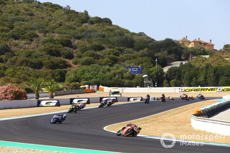 Alvaro Bautista, Aruba.it Racing-Ducati Tea y Marco Melandri, GRT Yamaha WorldSBK