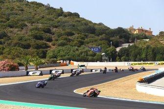 Alvaro Bautista, Aruba.it Racing-Ducati en Marco Melandri, GRT Yamaha WorldSBK