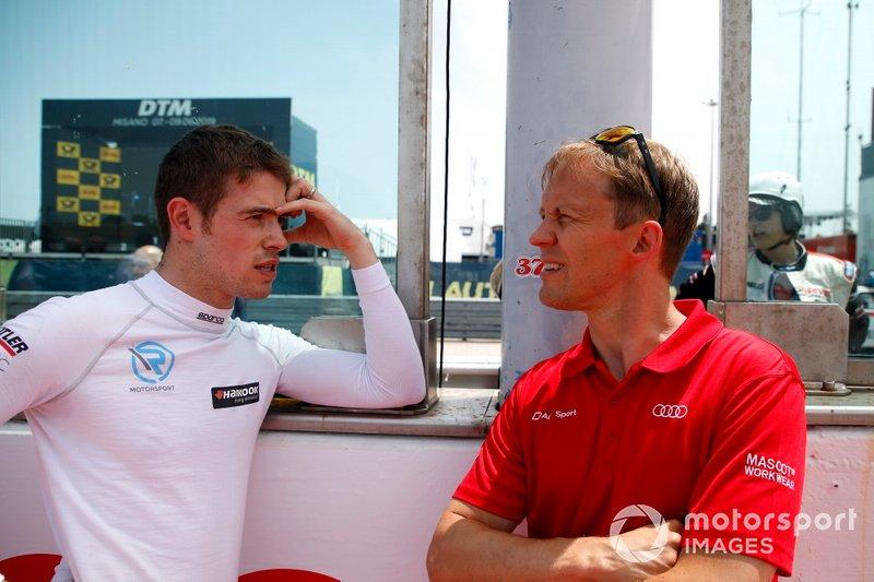 Paul Di Resta, R-Motorsport and Mattias Ekström