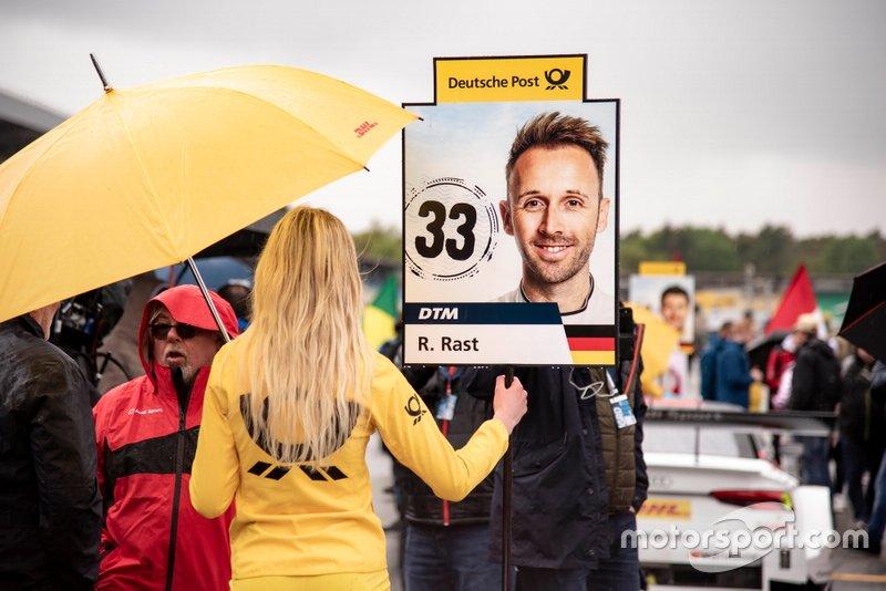 Edecán del DTM, René Rast, Audi Sport Team Rosberg