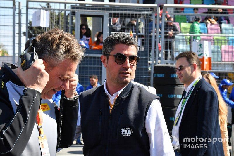 FIA representative on the grid