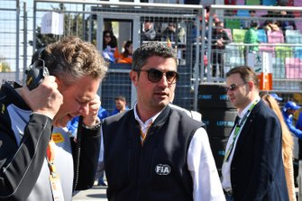FIA representative on the grid