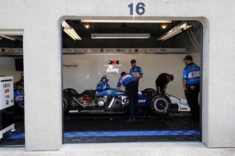 Graham Rahal, Rahal Letterman Lanigan Racing Honda, garage