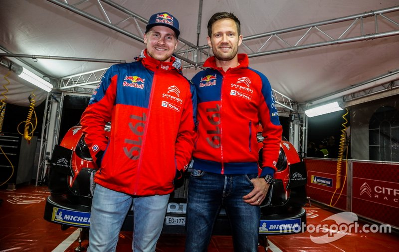 Esapekka Lappi, Citroën World Rally Team, Sébastien Ogier, Citroën World Rally Team