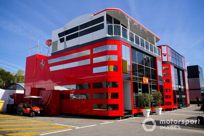 Le motorhome Ferrari