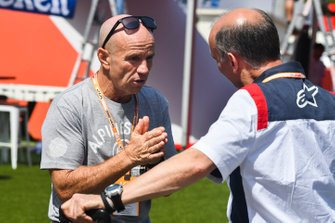 Randy Mamola, Former Professional Grand Prix motorcycle racer in the paddock