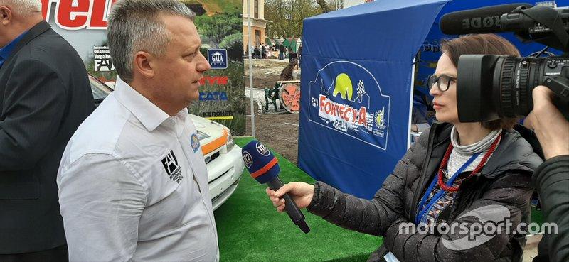 Ралі «Фортеця» 2019, організатор ралі - Михайло Лойленко