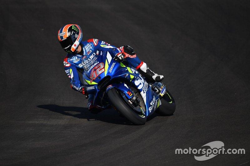 #42 Alex Rins, Team Suzuki MotoGP, confirmado para 2020