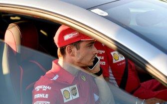 Charles Leclerc, Ferrari lascia la pista
