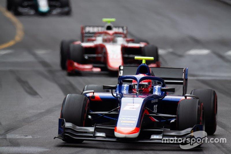 Nobuharu Matsushita, Carlin y Sean Gelael, Prema Racing