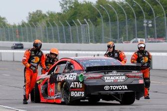 Motorschaden: Truex Jr., Joe Gibbs Racing, Toyota Camry Bass Pro Shops