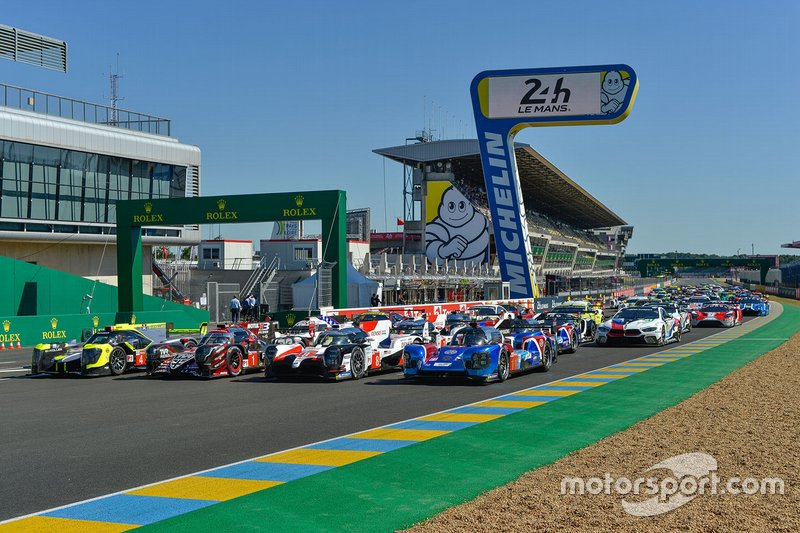 La photo officielle des 24 Heures du Mans 2019