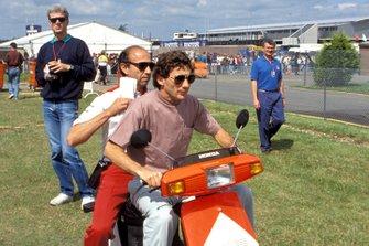 Ayrton Senna, Jo Ramirez