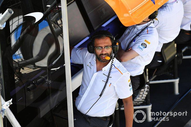 Randeep Singh, chef de la stratégie chez McLaren