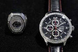 Coca-Cola 600 winner's watch and ring