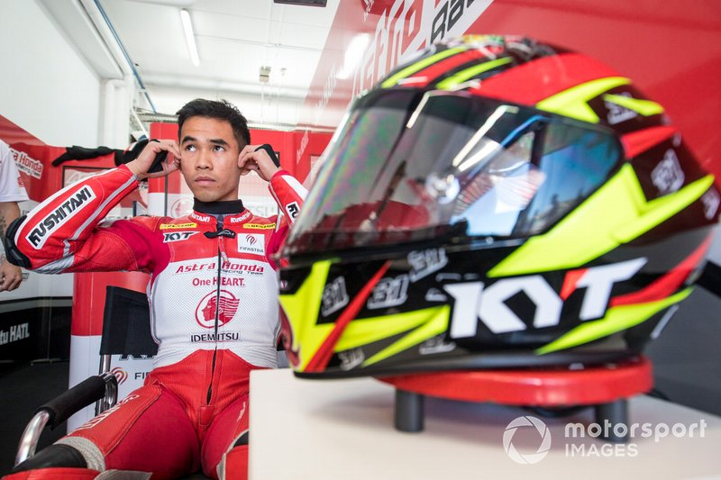 Gerry Salim, Astra Honda Racing Team