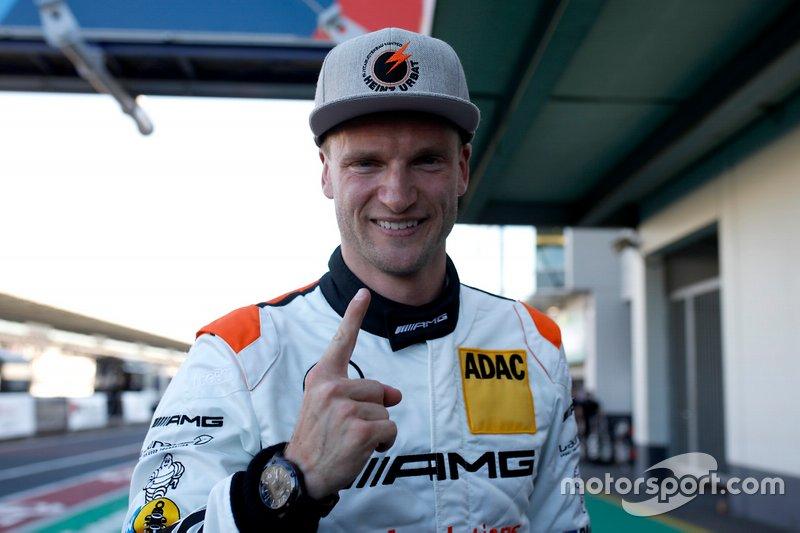 Ganador de la pole #2 Mercedes AMG Team Black Falcon Mercedes AMG GT3: Maro Engel