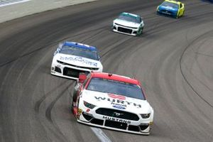 Brad Keselowski, Team Penske, Ford Mustang Wurth and Cody Ware, Petty Ware Racing, Chevrolet Camaro JACOB Companies