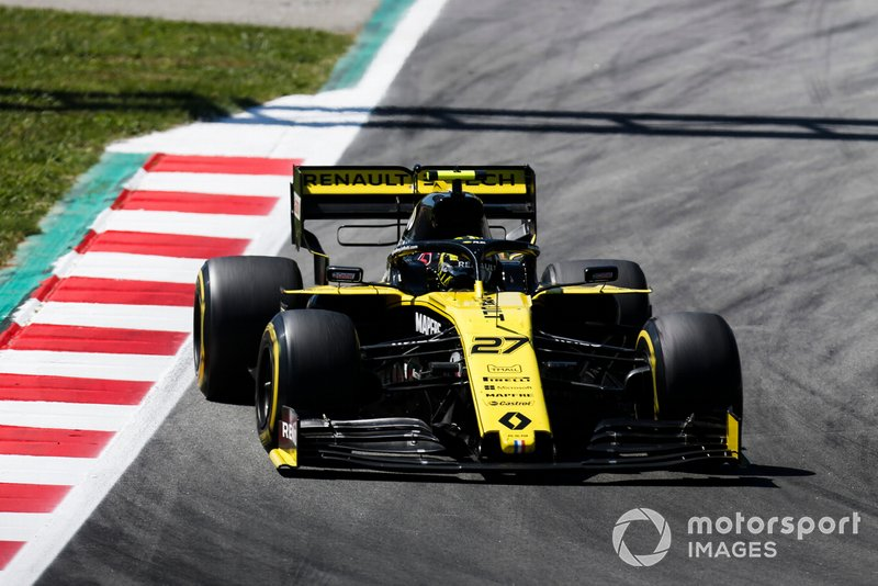 Hulkenberg was asked to stretch his stint