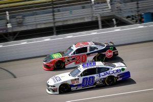 Cole Custer, Stewart-Haas Racing, Ford Mustang Jacob Companies, Christopher Bell, Joe Gibbs Racing, Toyota Supra Rheem / RTP