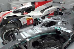 Comparaison entre la Toyota LMP1 et la Mercedes F1