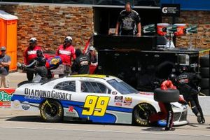 Tommy Joe Martins, B.J. McLeod Motorsports, Toyota Supra Diamond Gusset Jeans pit stop