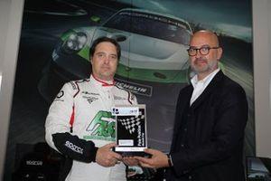 Il poleman della Michelin Cup Alex De Giacomi, Tsunami RT