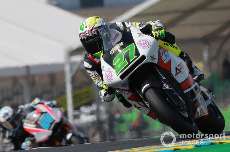 Iker Lecuona, American Racing, French MotoGP 2019