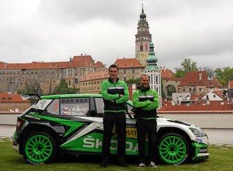 Jan Kopecky, Pavel Dresler, Skoda Fabia R5