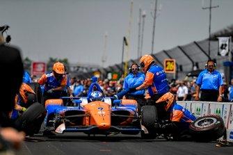 Scott Dixon, Chip Ganassi Racing Honda, Pit Stop Competition