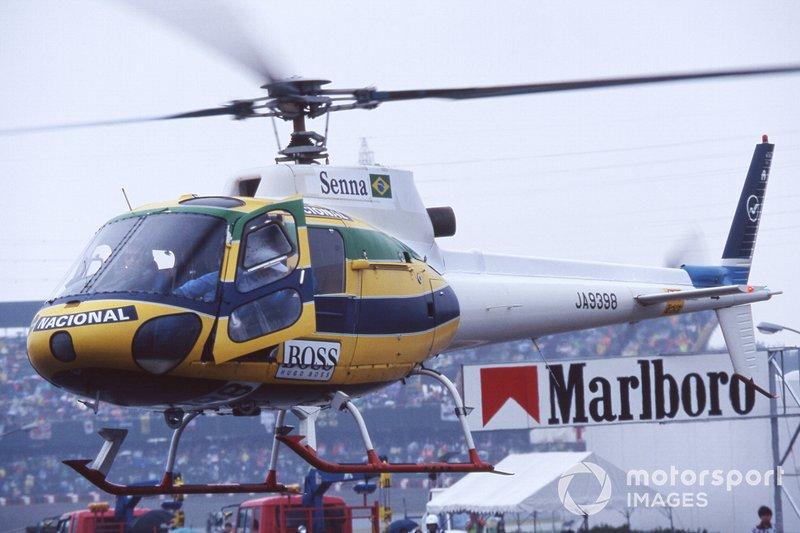Helicóptero de Ayrton Senna
