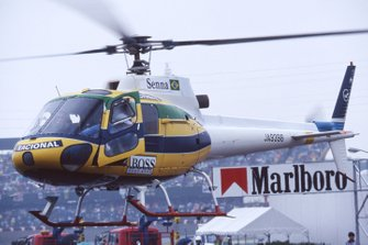 Helicopter of Ayrton Senna