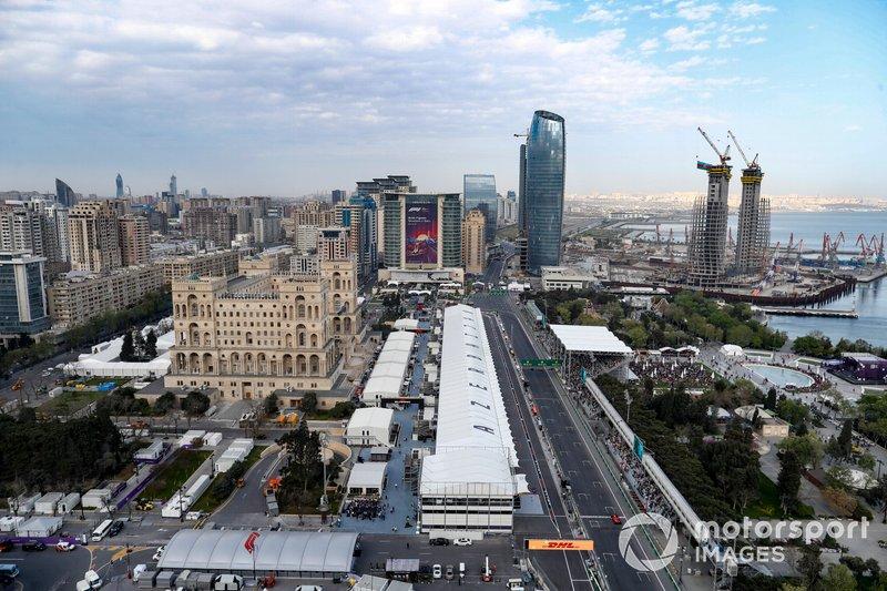 GP de Azerbaiyán, Bakú