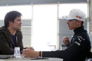Shelton van der Linde, BMW Team RBM with Sven Haidinger, Motorsport.com/Motorsport-Total.com