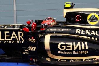 Troisième place pour Romain Grosjean, Lotus F1 Team