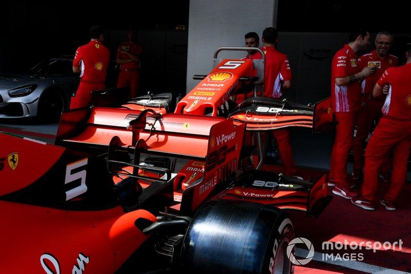 Alerón trasero del Ferrari SF90