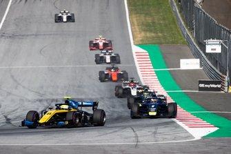 Luca Ghiotto, UNI Virtuosi Racing and Louis Deletraz, Carlin