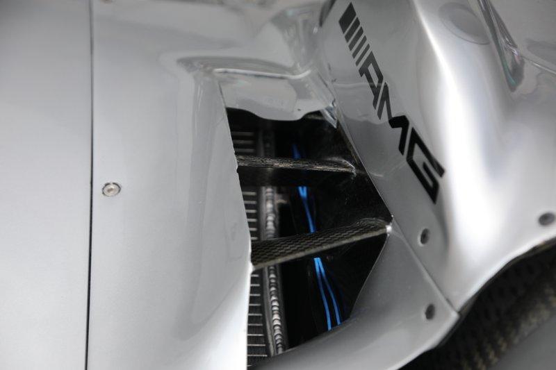 Mercedes F1 AMG W10, cooling
