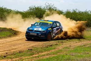 Dean Mascarenhas and Shruptha Padival, Team Champions Volkswagen Polo